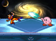 Goku and Kirby rapid jabs