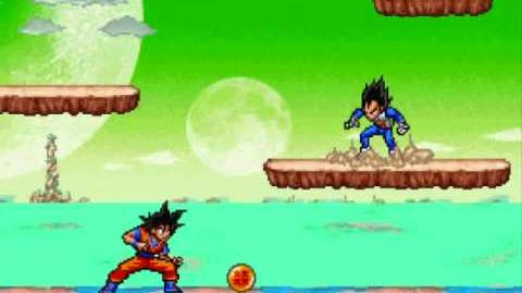 Super Smash Flash 2 Cutscene Goku vs
