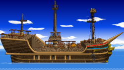 SSF2 Gangplank Galleon