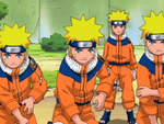 Shadow clones in NARUTO anime