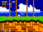 Spin Dash (Sonic) in Sonic 2