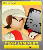Card - FUURYYY! (Foil)