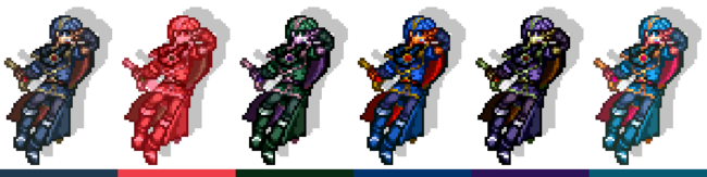 Marth Palettes