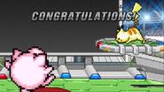 SSF2 - All-Star mode - Pikachu