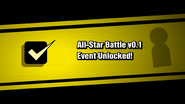 All-Star Batlle v0.1 event unlocked