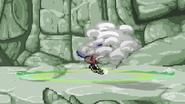 Shadow Clone Slash Smoke