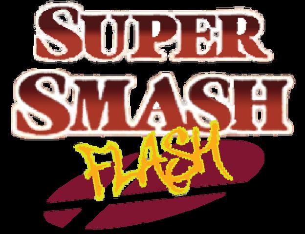 File:Super Smash Flash Title.png