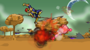 Falcon Dive Explosion