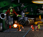 Giant Punch in DKC2