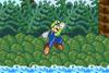 SSF Luigi jump attack