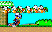 Rex in A Super Mario World