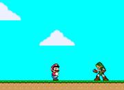 Mario meets Link