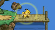 Skull Bash Charge Pikachu