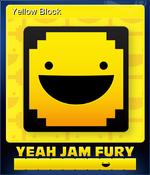 Card - Yellow Block