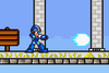 SSF Mega Man X down attack