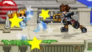 Attack the robot fox