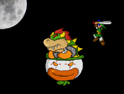 Bowser in A Super Mario World