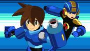 Mega Legends Volnutt and EXE