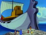 Solaris, le navire géant de l'empire de Mu