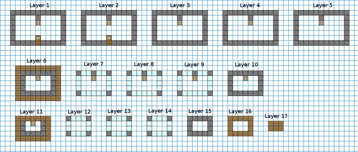 Observatory keep blueprints minecraft constuctions wiki fandom blueprints malvernweather Images