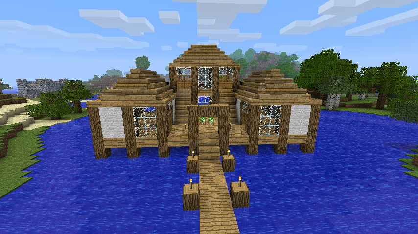 Frontwaterhouse. Finished House