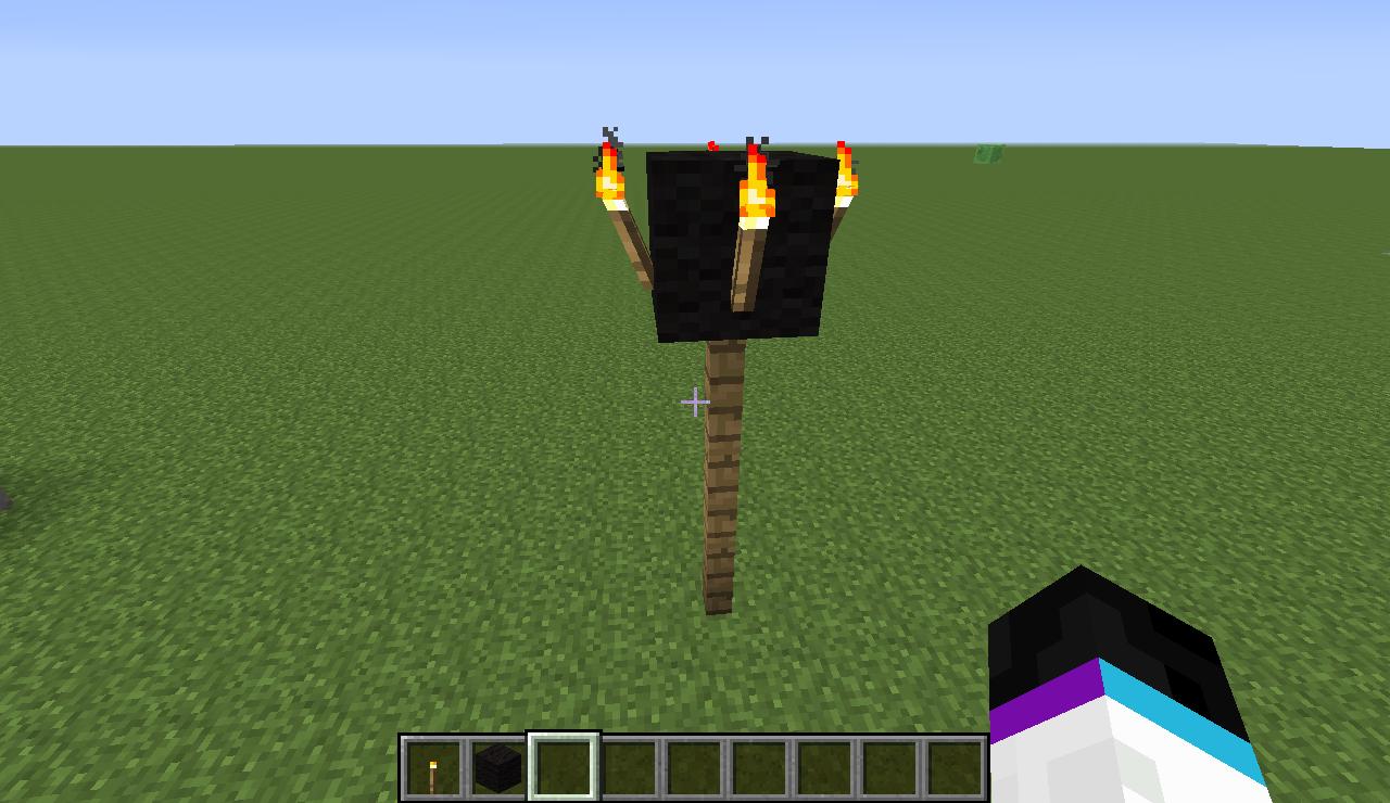 Tutorials/Creating a Village/Lamp Post | Minecraft Wiki
