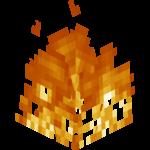 Fire still