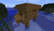 Witch Hut with backround