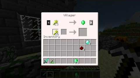 Minecraft Blocks and Items Emeralds