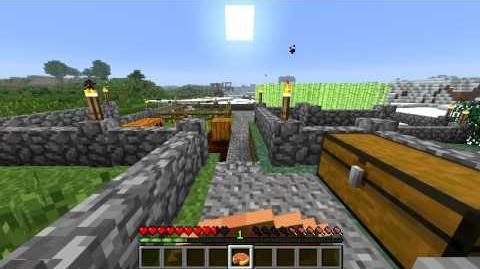 Minecraft Blocks and Items Pumpkin Pie