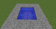 Infinite Water Source Square
