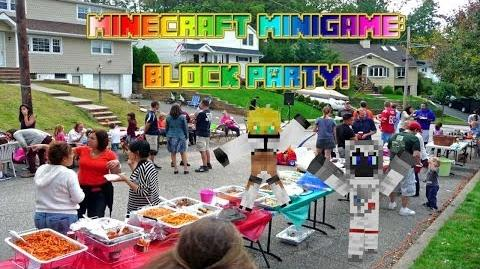 Minecraft Minigame - Block Party!
