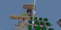 Skyblock Island.