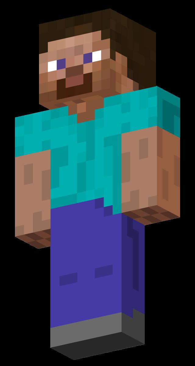 Minecraft steve nackt