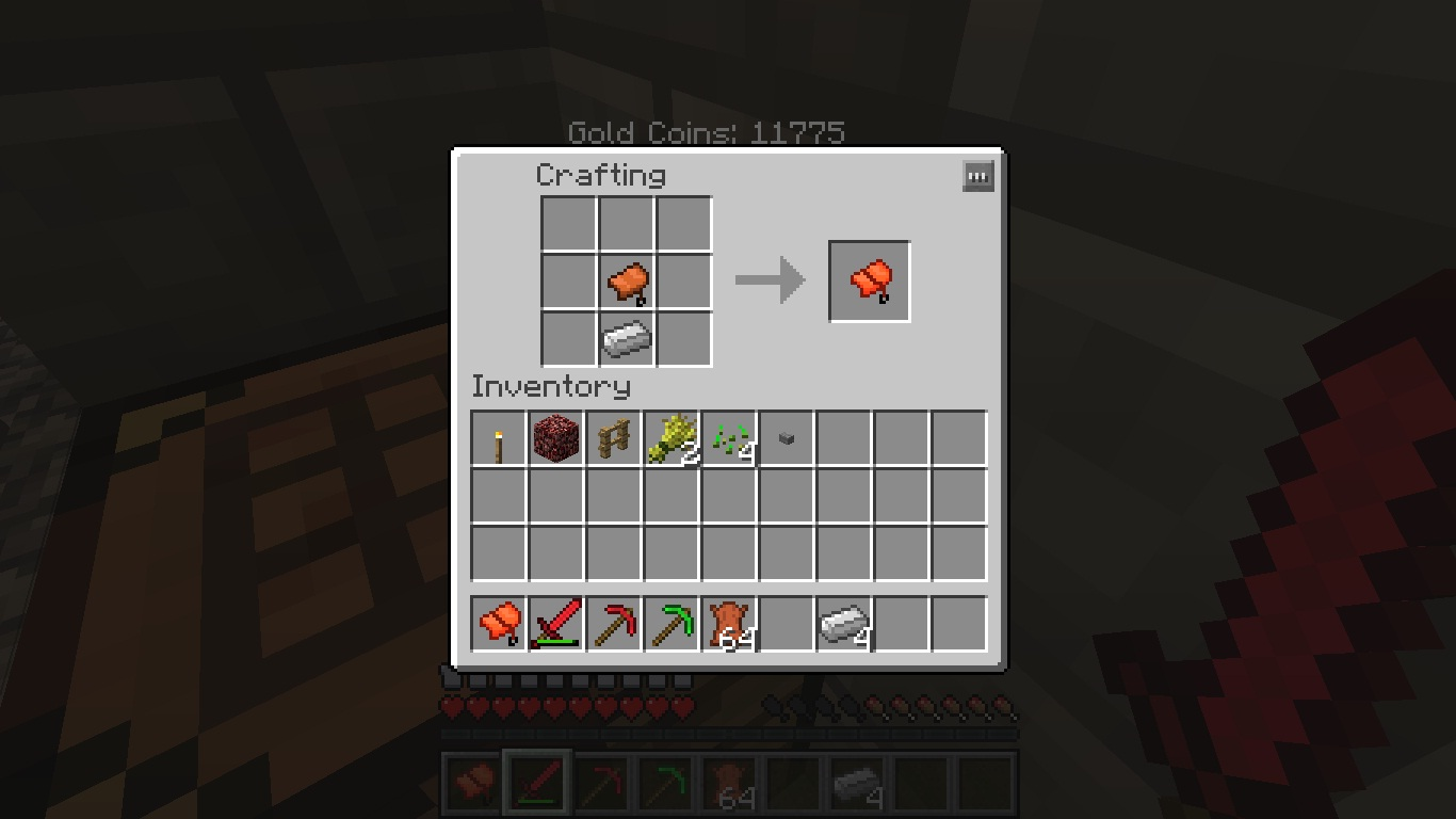 How to make saddle in minecraft