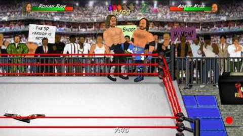 Wrestling Revolution Exhibition Seth Rollins vs AJ Styles