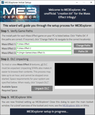 Getting Started | ME3Explorer Wiki | FANDOM powered by Wikia