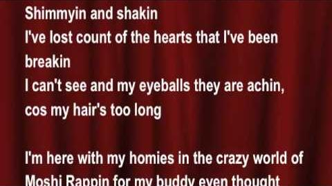 Moshi Monsters - Moptop Tweenybop (My Hair's Too Long) - Zack Binspin FT Blingo (lyrics)