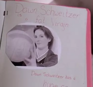 Dawn Schweitzer is a fat virgin and has a huge ass