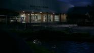 Bay City High at Night