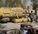 Decommissioned Submarine Yard
