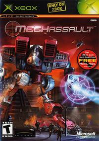 MechAssault Coverart
