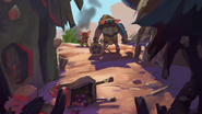 Village ransacked