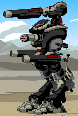 Shadow Mega Gunner