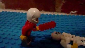 OLD! The lego Zombie My first YouTube Movie