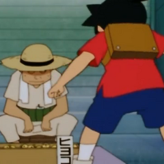 Ikki meets the Chick Salesman