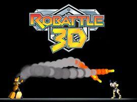 Robattle 3D logo
