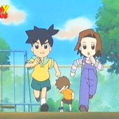 Young Ikki and Young Erika