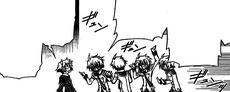 Tsurubami explains the merits of Jump Square to Zenkichi