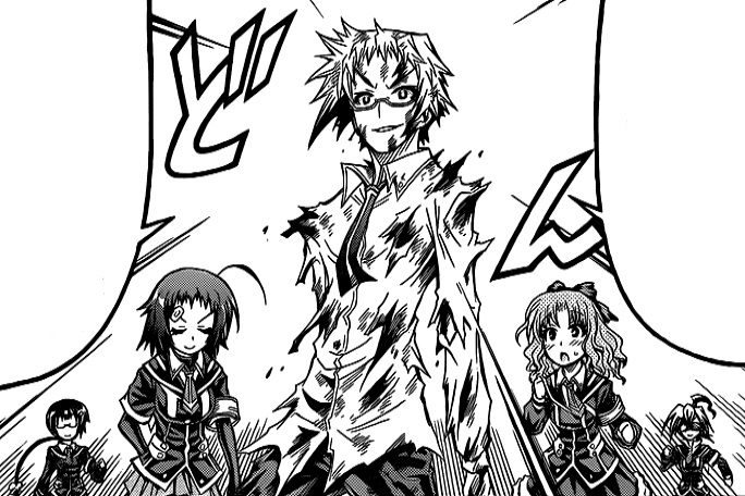 Akune Finds Zenkichi And Kikaijima In A  promising Position additionally Oudo And Medaka Ii in addition Akune Attacks The Door Of Rejection also Tumblr Mjd Em Mb Rqfeglo together with Vlcsnap. on zenkichi and medaka box kikaijima